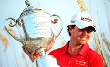 Rory McIlroy on top of the world after winning US PGA Championship