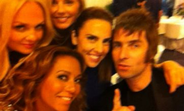 Spice Girls and Liam Gallagher put rift behind them at Olympics concert