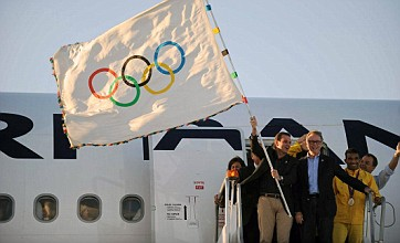 Olympic flag arrives in Rio as the road to 2016 Games begins
