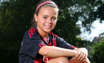AC Milan sign 10-year-old girl after scouting her on family holiday