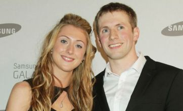 Laura Trott and beau Jason Kenny look loved up at Samsung launch