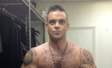 Robbie Williams beefed up and ready for solo comeback