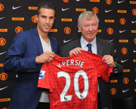 Robin Van Persie, Manchester United.