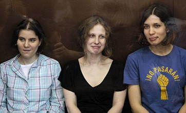 Pussy Riot trio jailed for two years over protest against Vladimir Putin