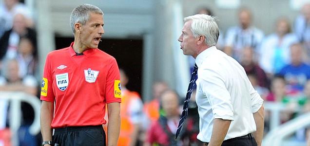 Newcastle Tottenham football Premier League Alan Pardew