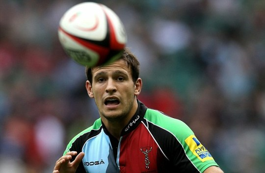 Rugby Harlequins England Danny Care