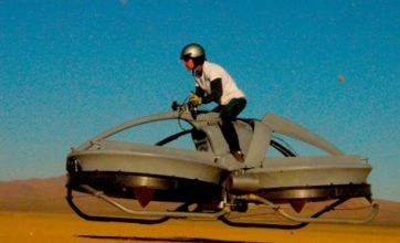 Star Wars-style hoverbike developed that can get up to 30mph