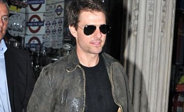 Tom Cruise hits London's West End to support son DJing at Chinawhite