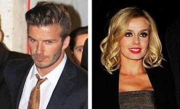 Katherine Jenkins and David Beckham slam affair rumours