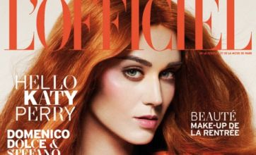 Katy Perry unleashes her inner Ginger Spice with fiery orange locks