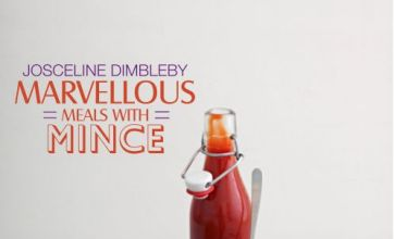 Josceline Dimbleby still not mincing words in Marvellous Meals With Mince