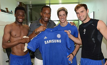 Fernando Torres puts on a brave face as Didier Drogba returns to Chelsea