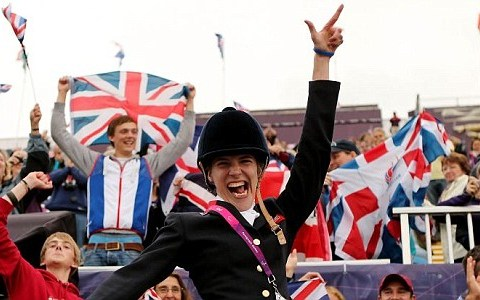 The equestrian Paralympic athletes reign supreme at Greenwich