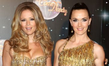 Victoria Pendleton and Kimberley Walsh go for gold at Strictly launch