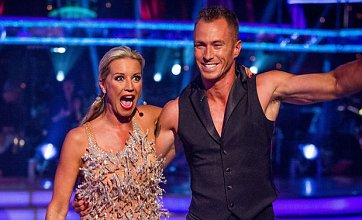Strictly Come Dancing duo Denise Van Outen and James get off to rocky start