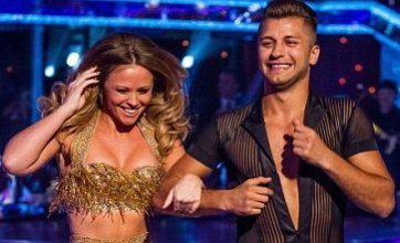 Kimberley Walsh gets to grips with Pasha in first Strictly rehearsal