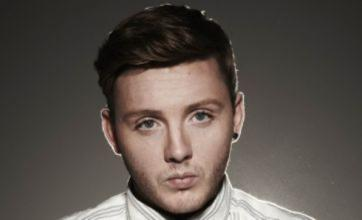 The X Factor's James Arthur collapses after live show