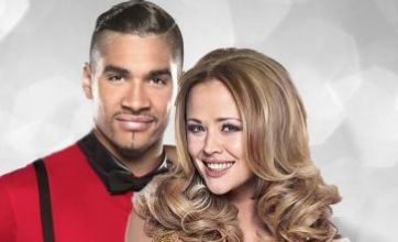 Louis Smith ditches lover as he makes eyes at 'beautiful' Kimberley Walsh
