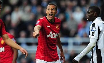 Manchester United stars rally round Rio Ferdinand after England snub