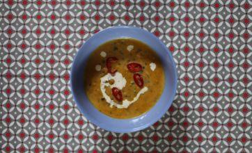 Coconut squash broth: Midweek supper recipe
