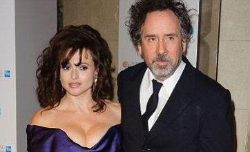 Helena Bonham Carter and Tim Burton show united front