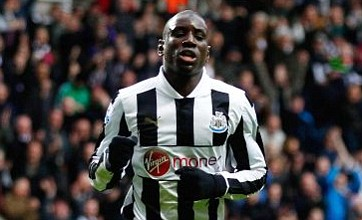 Demba Ba could miss Liverpool clash with shin injury