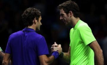 Juan Martin Del Potro beats Roger Federer to secure ATP semi-final place