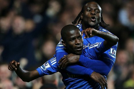 Ramires Victor Moses Chelsea