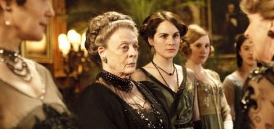 Maggie Smith, Downton Abbey