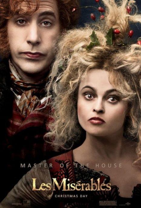 Sacha Baron-Cohen, Helena Bonham-Carter, Les Miserables