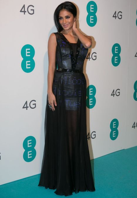 Nicole Scherzinger twitter dress