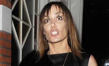 Tara Palmer-Tomkinson escaped 'arrest' over gun shoes by playing Backgammon with Swiss police