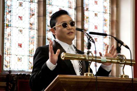 Psy, Gangnam Style, Oxford University Union