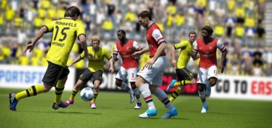 FIFA 13 – cloaking device disabled