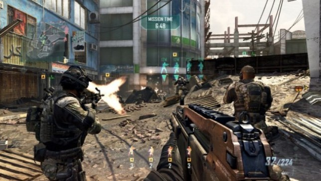 Call Of Duty: Black Ops II (360) – first person Strikeforce