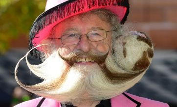 World's best beards and moustaches celebrated in Las Vegas