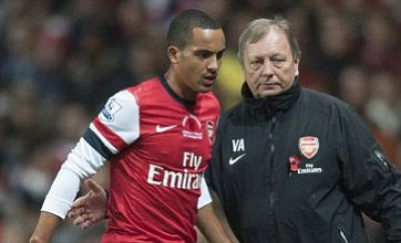 Theo Walcott, Alex Oxlade-Chamberlain and Wojciech Szczesny in line for Arsenal's derby clash