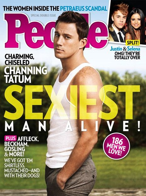 Channing Tatum, People's Sexiest Man Alive