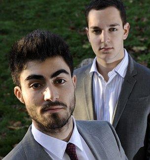 Benjamin Shashou and Marcus Ereira