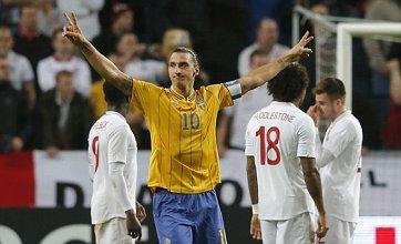 Four-goal Zlatan Ibrahimovic's 30-yard overhead kick steals show vs England