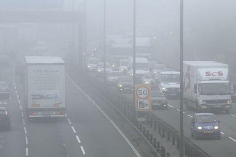 weather, fog