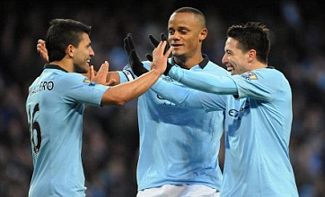 Roberto Mancini delighted with team spirit as Manchester City return to top