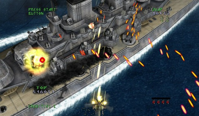 Under Defeat HD (PS3) – life after Dreamcast