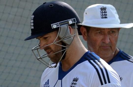 England cricketer Matt Prior
