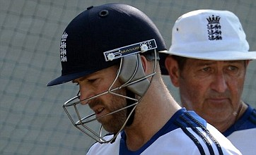 England's first Test hope ended by ruthless India