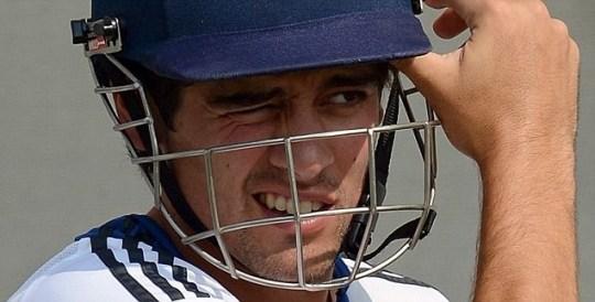 England cricket team captain Alastair Cook