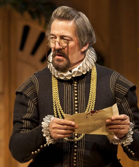 tephen Fry as Malvolio
