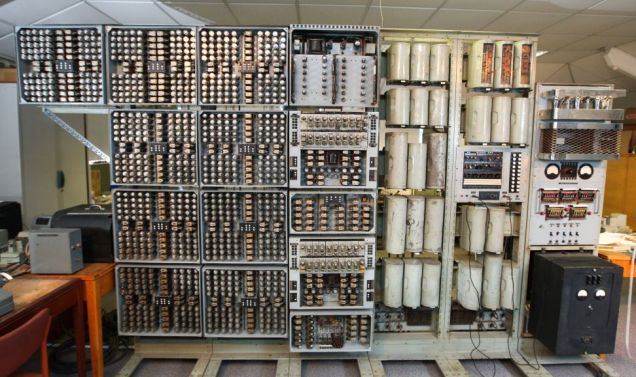 Volunteers restored the computer over three years, reassembling its 50 pieces (Picture: Geoff Robinson Photography)