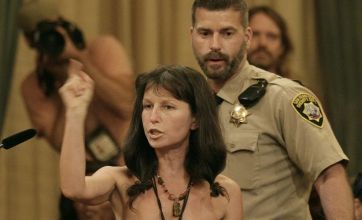 San Francisco nudists disrobe in fury as city backs ban on public nakedness
