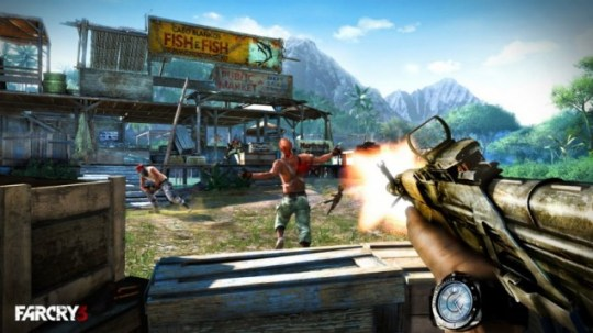 Far Cry 3 (360) – beautiful violence